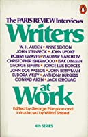 Writers at Work (The Paris Review Interviews, 4th Series) 0140045430 Book Cover