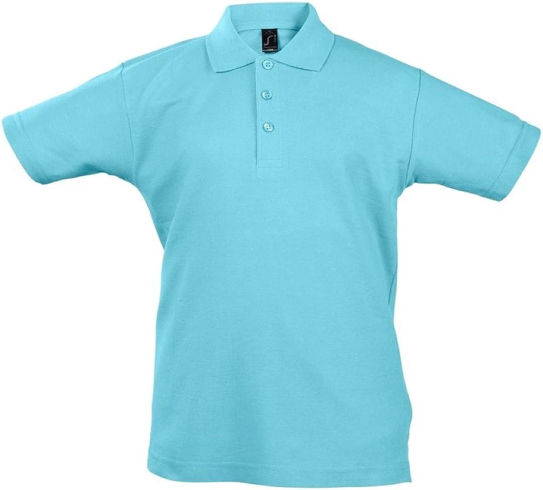 SOL'S Kids Summer II Pique Short Sleeve Polo Shirt