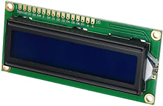 1602 Character LCD Display Module Blue Backlight for A-r-d-u-i-n-o - products that work with official A-r-d-u-i-n-o boards...