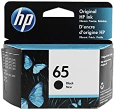 Image of New HP 65 Black Ink. Brand catalog list of HP. Rated with a 4.7 over 5