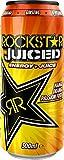 Rockstar Juiced Mango Maracuyá Naranja 500ml (paquete de 12 x 500 ml)
