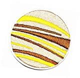 Planet Jupiter Space Cartoon Iron on Appliques Embroidery Patch Embroidered Fashion DIY Patches for Clothes Jacket Polo T- Shirt Hat Backpacks (05)