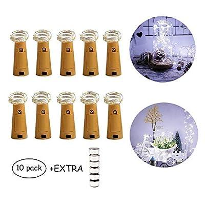 Wine Bottle Lights,Cork Lights with Backup Batteries Multicolor led Lights Used for Bottle Lights with Cork,DIY Party Christmas Lights,Decor,Wedding