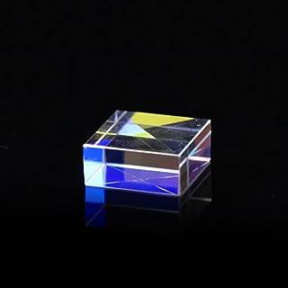 WHHHuan 1 cube dichroïque rectangulaire de 15 x 15 x 7 mm pour l'enseignement de la physique