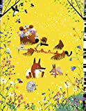 BEAR & FOX Journal : Summer time, picking strawberries and flowers · College Ruled Notebook (Bear...