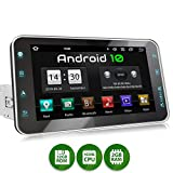XOMAX XM-VA801 Autoradio mit Android 10, QuadCore, 2GB RAM, 32GB ROM, 8 Zoll / 20,3cm Touchscreen, GPS Navigation I Support: WiFi WLAN, 3G 4G, DAB+, OBD2 I Bluetooth, USB, SD, 1 DIN