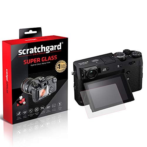 Scratchgard Unbreakable Hybrid Nano Glass (Stronger Than Tempered Glass) Flexible Film Camera Screen Protector for Fujifilm X100V