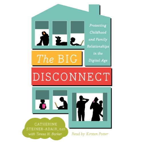The Big Disconnect audiobook cover art