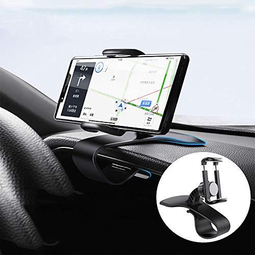 スマートフォン車載ホルダー スマートフォン固定式ホルダー クリップ式 カーマウント HUDシミュレーション設計 スマートフォン固定スタンド スマートフォンホルダー スマホ スマホホルダー スマホスタンド車 車スタンド 携帯スタンド 携帯ホルダー 片手操作