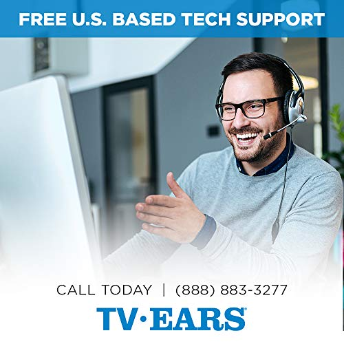 TV Ears Additional TV Headset - Wireless, Voice Clarifying, Doctor Recommended, 11621 - Version 5.0