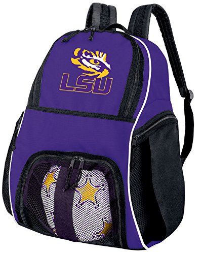 Broad Bay LSU Soccer Backpack or Volleyball Bag Purple