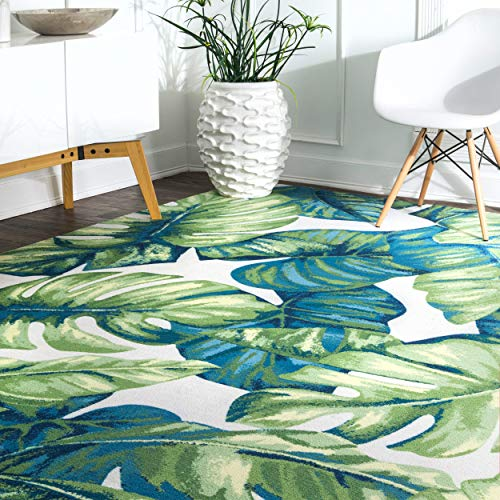 nuLOOM Lisa Floral Indoor/Outdoor Area Rug, 5' x 8', Multi