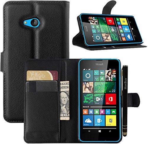 maxbuy Cover per Nokia Microsoft Lumia 640, Portafoglio PU Pelle con Stand Custodia Cover di Protezione per Nokia Microsoft Lumia 640