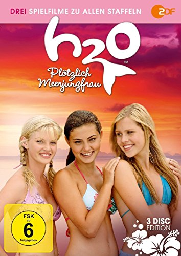 H2O - Plötzlich Meerjungfrau: Drei Spielfilme zu allen Staffeln [3 DVDs]
