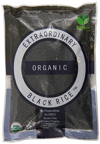 Bgreen Organic Black Rice, 16 Ounce