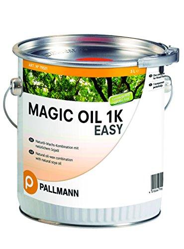 PALLMANN MAGIC OIL 1K EASY Parkettöl mit natürlichen Ölen und Wachsen, das eine offenporige, atmungsaktive und diffusionsfähige Oberfläche ergibt. 3 Liter Gebinde