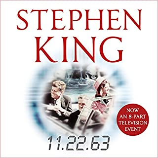 11.22.63                   By:                                                                                                                                 Stephen King                               Narrated by:                                                                                                                                 Craig Wasson                      Length: 30 hrs and 38 mins     4,296 ratings     Overall 4.6