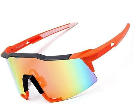 Correr en bicicleta ciclismo gafas de sol Las lentes grandes ...