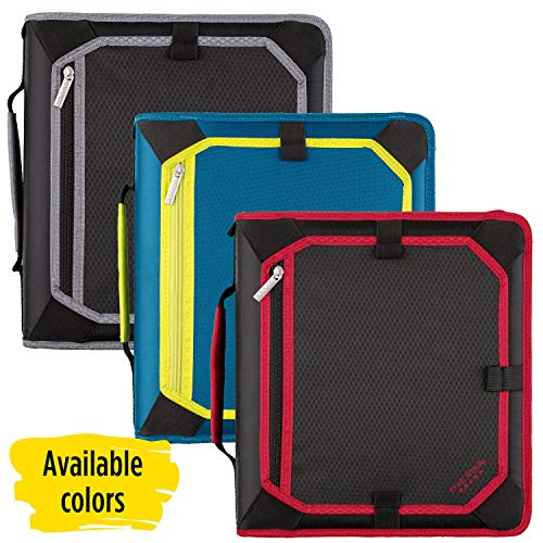 Five Star Zipper Binder, 2 Inch 3 Ring Binder, Expansion Panel, Durable, Color Selected For You, 1 Count (29052) Photo #4