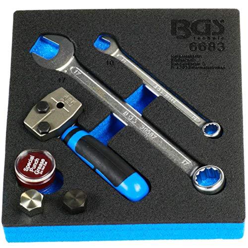 BGS 6683 | Werkstattwageneinlage 1/6: Bördelgerät | DIN 4,75 mm (3/16