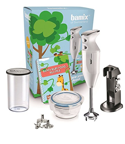 Bamix MX101254 Baby Line Mixeur Plongeant, 200 W, Blanc
