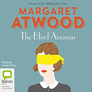 The Blind Assassin                   By:                                                                                                                                 Margaret Atwood                               Narrated by:                                                                                                                                 Lorelei King                      Length: 18 hrs and 26 mins     350 ratings     Overall 4.1