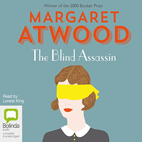 The Blind Assassin audiobook cover art