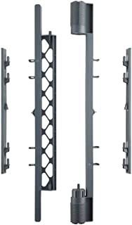 North States MyPet Petyard Wall Mount Kit for MyPet Play Yards, Superyards or 2-Panel Extensions: Hardware to Create an Extra-Wide Barrier (Gray)