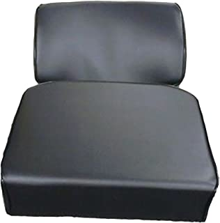 New Aftermarket Seat Cushion Set w/ Back Rest & Bottom Made To Fit John Deere Crawler Dozer 350C & 450C