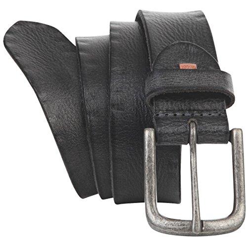 Ceinture Homme/Ceinture Homme Premium leather The Art of Belt Unisex, noir, Größe/Size:100, Farbe/Color:noir