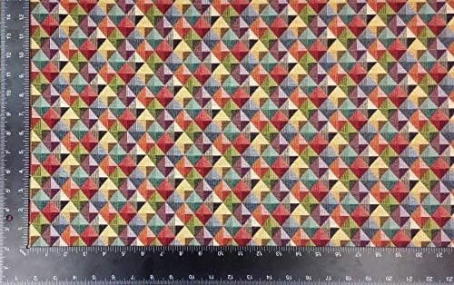 Neuf World Géométrique Triangle Little Holland Haute Qualité Tapisserie Fabric Matériel Vendu au Mètre