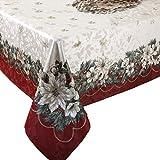 Benson Mills Christmas Noel Printed Tablecloth, size...