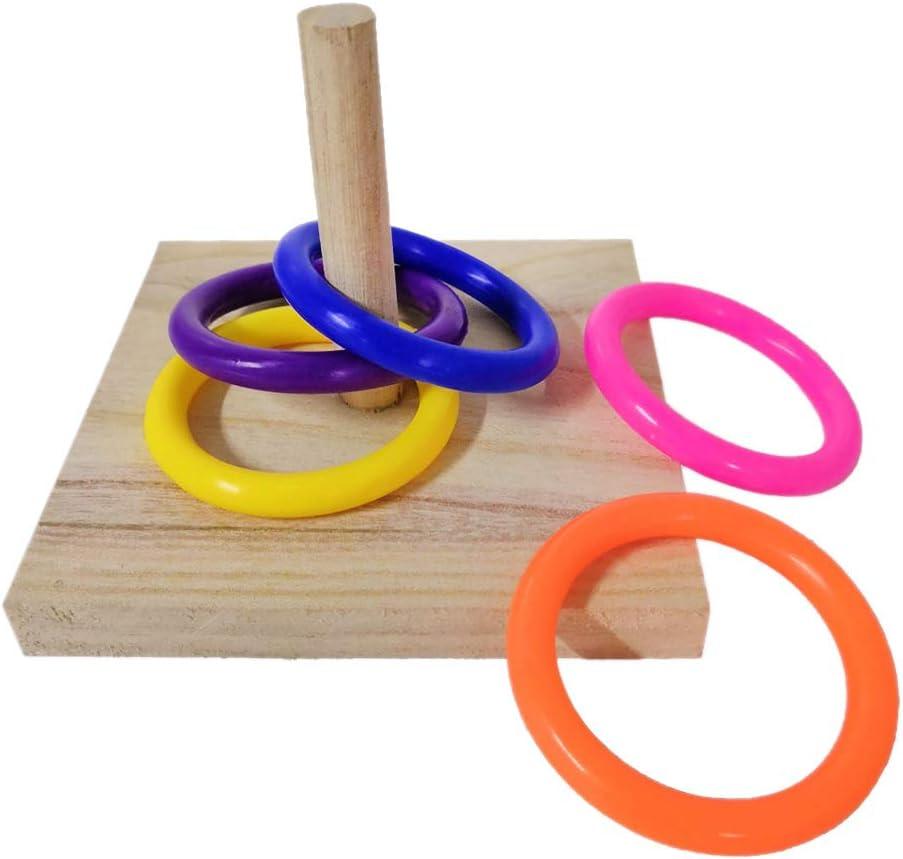 BMBN Bird service Toy Pet Educational Platform Parrot Wooden Plast Rapid rise