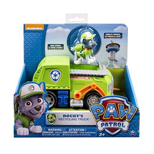 Paw Patrol - Rocky's Recycling Truck...
