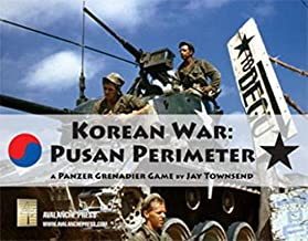 APL: Korean War, Pusan Perimeter, Boardgame in the Panzer Grenadier Game Series