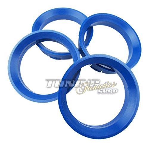 4 x Alufelgen Zentrierringe Zentrierung von 66,6 mm auf 57,1 mm (Markenqualität)