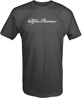 Alfa Romeo Script Classic Euro T Shirt