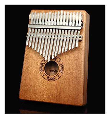 17-Tasten Daumen Klavier, Musikinstrument Anfänger mit Samtbeutel Stimmhammer Musikinstrument Lernspielzeug Musikliebhaber