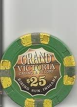$25 grand victoria casino chip rising sun indiana