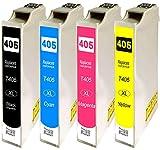 Druckerparadies Cartuchos de tinta compatibles Epson 405XL Epson 405 para Epson Workforce Pro WF 3820DWF 3825DWF 4820DWF 4825DWF 4830DTWF / WF 7830DTWF 7835DTWF 7840DTWF (4 unidades)