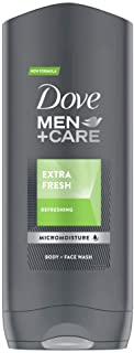 Dove Men+Care Extra Fresh Body Cleanser with MicroMoisture Technology Body and Face Wash for Hydrated and Healthy Skin 400...
