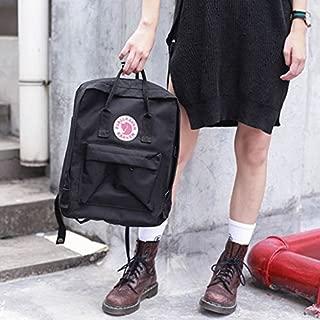 Women Men Fjallraven Kanken Travel Backpack Work Shoulder School Bags Rucksack Black