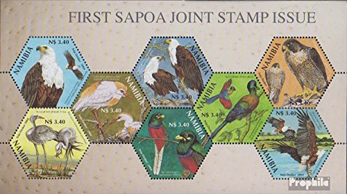 Namibië - Southwest Mi.-Aantal.: Blok 62 (compleet.Kwestie.) 2004 Vereniging Post Company (Postzegels voor verzamelaars) vogels