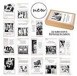 72 kreative Fotoaufgaben für unvergessliche Hochzeitsfotos/Kartenset/Hochzeit Fotoideen/Hochzeitsspiel/Schön, dass du da bist-Karten/auch sehr beliebt als Hochzeitsgeschenk - DIN A7
