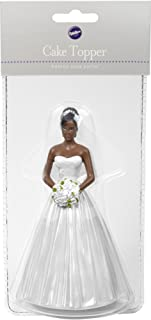 Cake Topper 5.25-Bride - African American