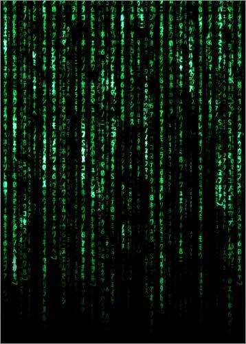 Póster 50 x 70 cm: The Matrix Code de Nikita Abakumov - impresión artística, Nuevo póster artístico