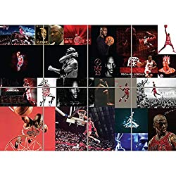 Image: MICHAEL JORDON BASKETBALL GIANT WALL ART NEW POSTER UNIQUE PRINT PICTURE B1272, by Doppelganger33 LTD