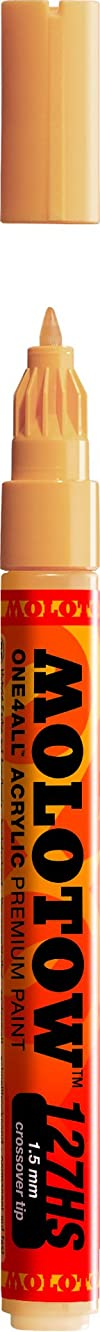 Molotow ONE4ALL Acrylic Paint Marker, 1.5mm, Sahara Beige, 1 Each (127.426)