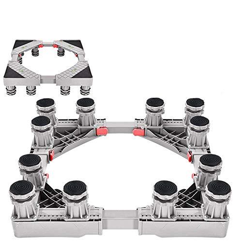 Verstelbare Multi-Functionele Base 12 Sterke voeten Mobiele Case Roller Dolly Voordroger En Koelkast Wasmachine