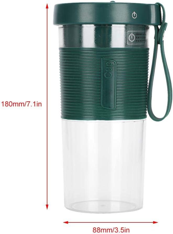Exprimidor USB recargable, 320 ml de capacidad Portátil ligero y delicado para viajar a casa Taza eléctrica de jugo de frutas(#2) #1